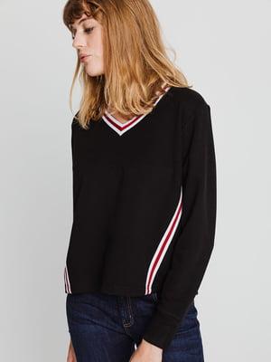 Пуловер черный | 4714836
