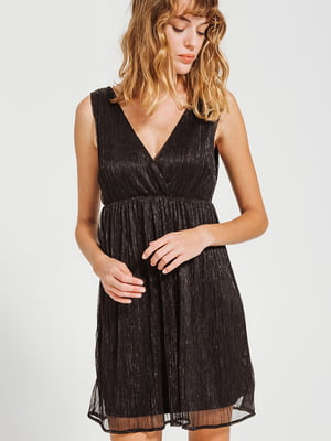Платье темно-коричневое | 4831786