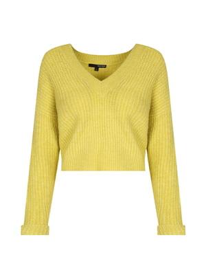 Пуловер желтый | 4656263