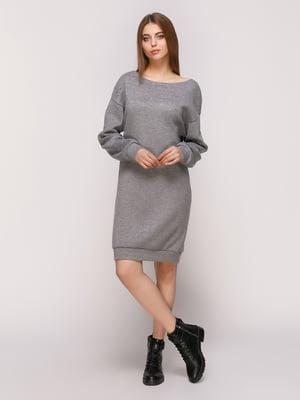 Сукня темно-сіра | 4839536