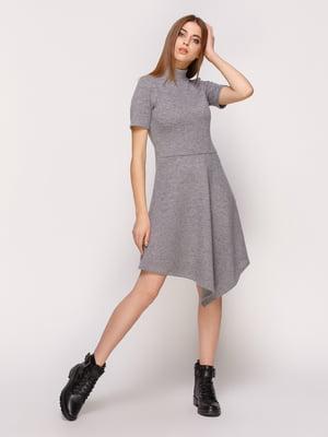 Сукня темно-сіра | 4839540