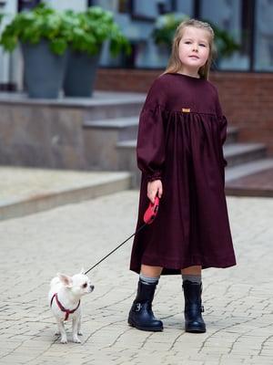 Сукня бордова | 4840203