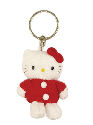 Брелок плюшевый Hello Kitty | 4830657