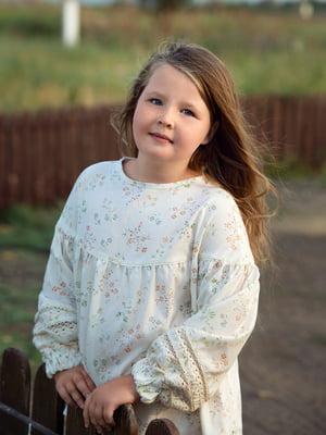 Блуза кремового цвета   4840191