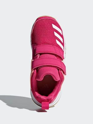 Кроссовки малинового цвета | 4822668