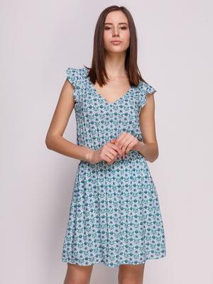 Платье в цветочный принт | 1899230