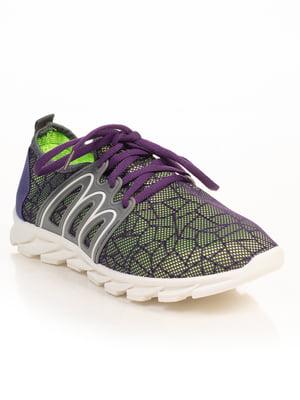 Кроссовки двухцветные | 4826235