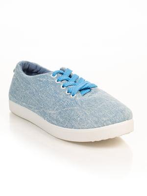 Кеды голубые | 4828888