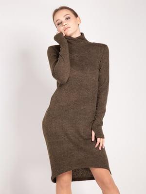 Сукня кольору хакі | 4842290