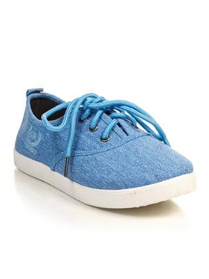 Кеды голубые | 4828865