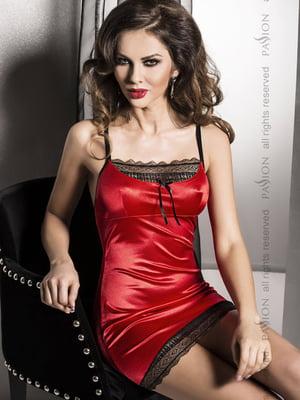 Рубашка ночная красная | 4596199