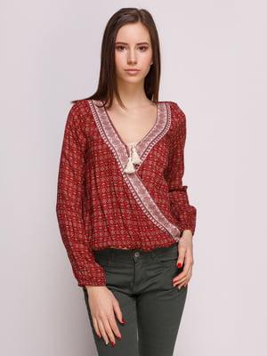 Блуза в принт | 3010006