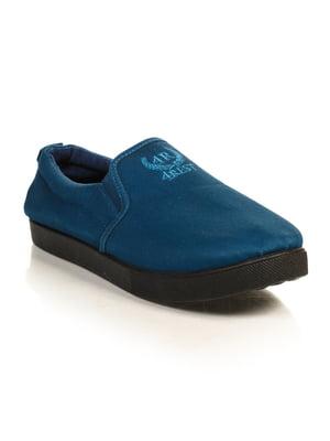 Слипоны синие | 4828837