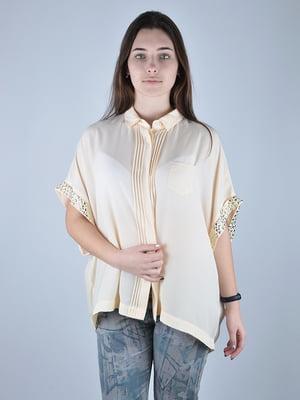 Блуза бежева | 4732542
