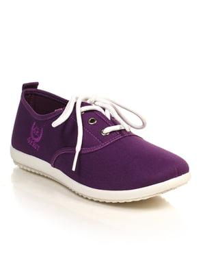 Кеды фиолетовые | 4828876