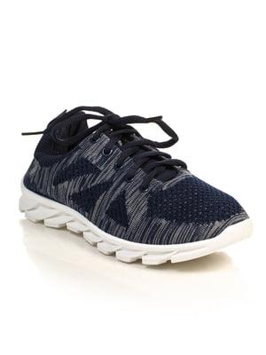 Кроссовки темно-синие | 4828822