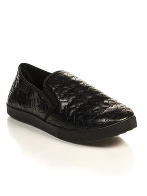 Слипоны черные | 4826250