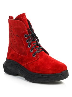 Ботинки красные | 4840892