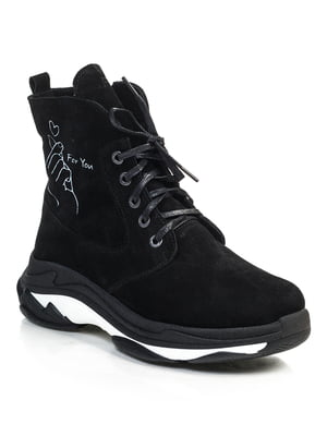 Ботинки черные   4840893