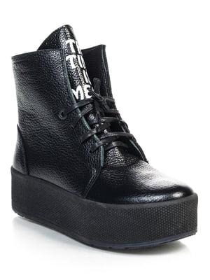 Ботинки черные   4840899