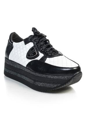 Кроссовки черно-белые | 4840915