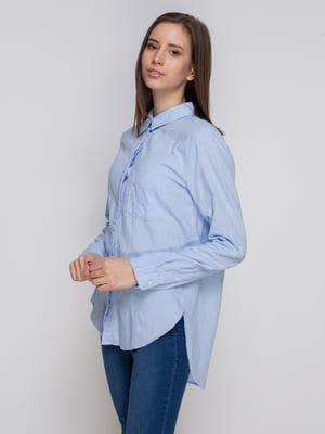 Рубашка голубая | 4725626