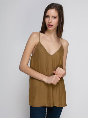 Топ коричневий | 4543891