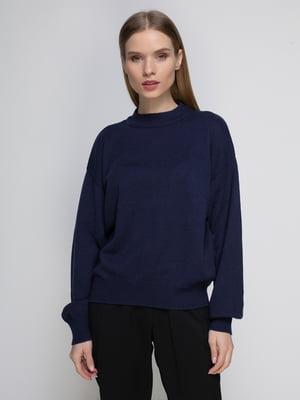 Джемпер темно-синій | 4406216