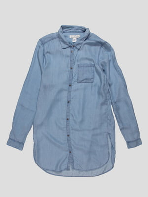 Рубашка голубая | 3644686