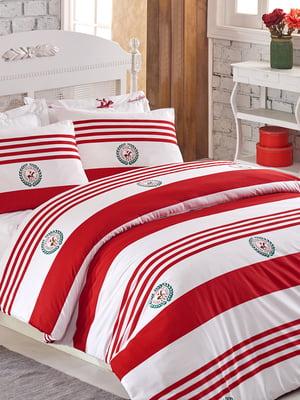 Комплект постельного белья двуспальный (евро) | 4842648