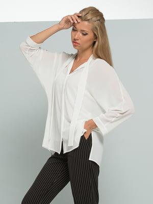 Блуза молочного кольору | 4836816