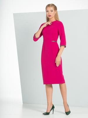 Платье цвета фуксии   4836835