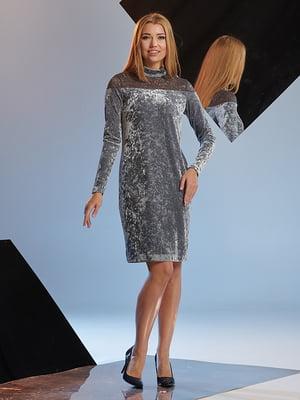 Платье серое   4836837