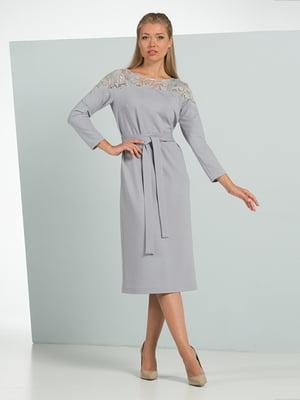 Платье серое | 4836848