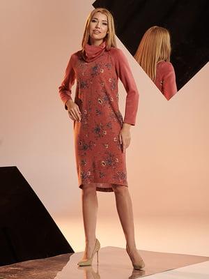 Платье с цветочным принтом   4836854