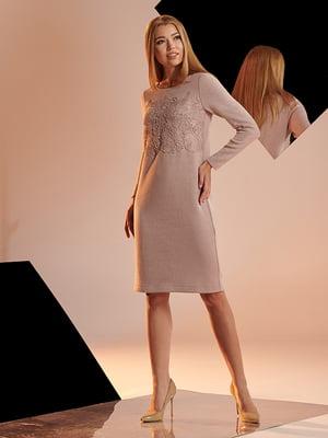 Платье цвета пудры | 4836855