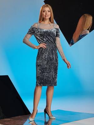 Платье серое   4836862