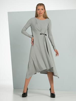 Платье серое | 4836878