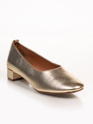 Туфли золотистые | 4780206