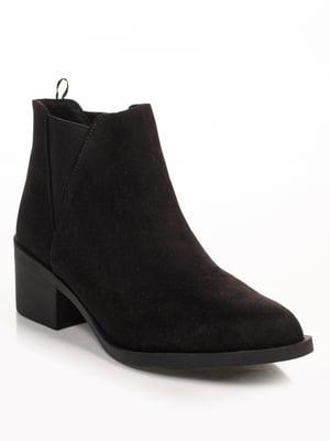 Ботинки черные   4777663