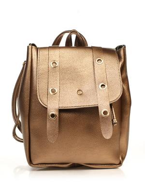 Рюкзак сталевого кольору | 4840117