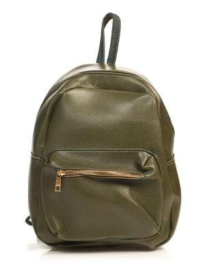 Рюкзак цвета хаки | 4840137