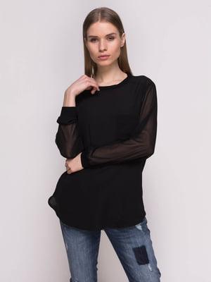 Блуза черная | 2351573