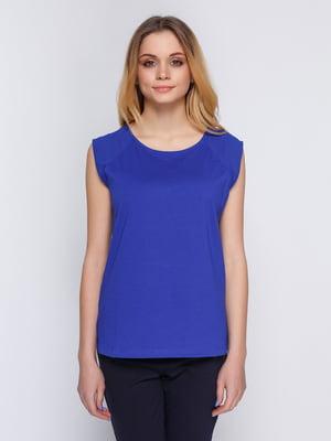 Блуза ярко-синяя | 2353994