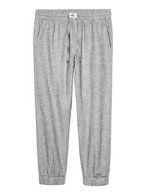 Брюки серые пижамные | 4762291