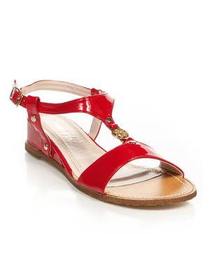 Сандалии красные | 4715932