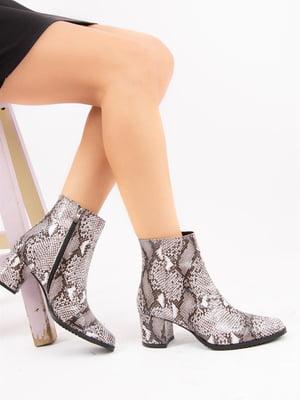Ботинки анималистической расцветки | 4854178