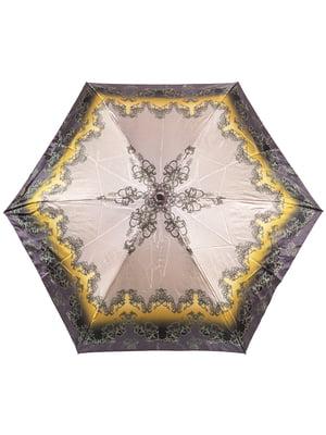 Зонт компактный механический | 4854507