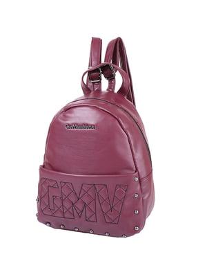Рюкзак бордовий | 4836880