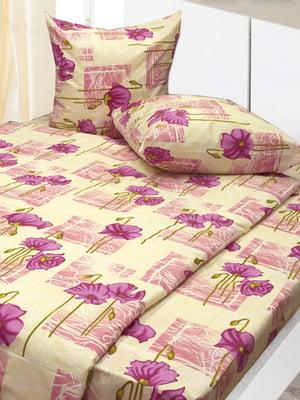 Комплект постельного белья полуторный | 4855652